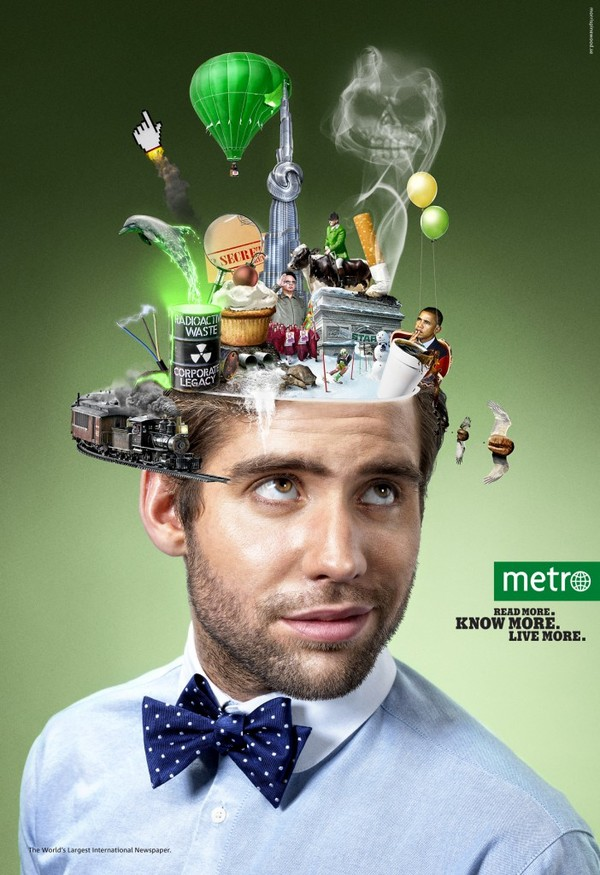 Picture-4 ( Creative and Inspiring Advertisement Photos from Metro campaign )